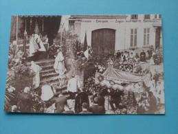 Processie Zegen Met Het H. Sacrament Evergem ( REPRO Copie / Copy ) - Anno 19?? ( Zie Foto Voor Details ) !! - Evergem