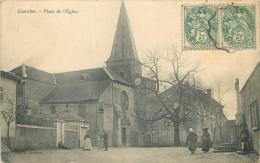 54 LIVERDUN PLACE DE L'EGLISE ANIMEE - Liverdun