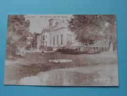 Het Kasteel Van M. Pepyn (Pepijn) Evergem ( REPRO Copie / Copy ) - Anno 19?? ( Zie Foto Voor Details ) !! - Evergem