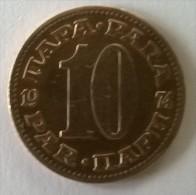Monnaie -  Yougoslavie - 10 Para 1974 - - Yougoslavie