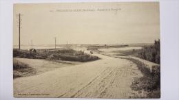 PENTHIEVRE PLAGE 56 Entree De La Presqu'ile AUTOMOBILE Vache 607 Morbihan CPA Animee Postcard - Otros Municipios