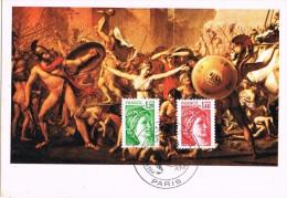 16287. Tarjeta Maxima PARIS 1980. Marianne, Serie Courante - Cartas Máxima
