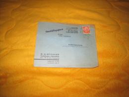 ENVELOPPE UNIQUEMENT DE 1937. / A IDENTIFIER. ALLEMAGNE. / H. SCHONDORF AUSSTATTUNGEN U. / BERLIN A NEUHALDENSLEBEN. / C - Allemagne