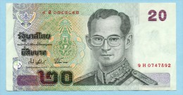 THAILAND TAILANDIA - 20 BATH -SPL - Tailandia