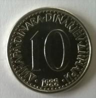 Monnaie -  Yougoslavie - 10 Dinara 1988 - Superbe- - Yugoslavia