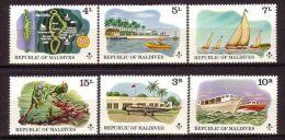 Maledives - Tourism / Transport 1975 MNH - Maldivas (1965-...)