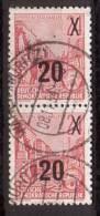 DDR , 1954 , Mi.Nr. 439 O / Used Se. Paar - DDR
