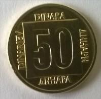 Monnaie -  Yougoslavie - 50 Dinara 1988 - Superbe +++ - - Yougoslavie