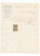 JG BIDEAU & Cie  ANCIENNE SOCIETE  BARBIER DAUBREE & Cie à CLERMONT FERRAND Le 18 07  1883 - 1800 – 1899