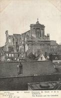 GUERRE 1914-18 - ARRAS - Panorama Du Musée Et De La Cathédrale - Edit. LAPINA - Guerre 1914-18