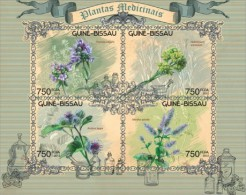 Guinea Bissau. 2012 Medical Plants. (618a) - Plants