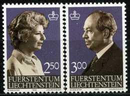 Liechtenstein - Michel 828 / 829 - ** Postfrisch (A) - 2.50-3.00Fr  Freimarken Fürst Und Fürstin - Ongebruikt