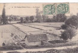 CPA CAMP D´ AVOR (CHER) LE POTAGER - Francia