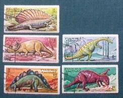"FJ004- FUJERA - 1968 - "" Serie Animali Preistorici "" Lotto Timbrati - Fujeira"