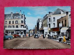 Cpsm 62 BERCK PLAGE   Anime  Rue De L Imperatrice  Commerces,Hotel,voitures Anciennes - Berck