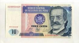 - PEROU . 10 I. 1987 - Pérou