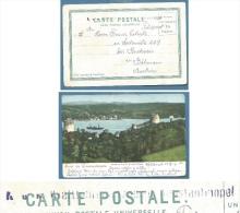 COSTANTINOPOLI - CARTOLINA SALUT DE COSTANTINOPLE CON ANNULLO K.U.K. FELD POST  PER L'AUSTRIA NEL 1917 - 1858-1921 Empire Ottoman