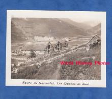 Photo Ancienne Snapshot - Route Du Col Du Tourmalet - Cabanes De Toue - Vallée Du Gave De Pau Bareges - Lieux