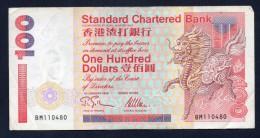 HONG KONG 100 DOLLARS -BB - Hong Kong