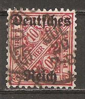 DR 1920 // Michel 58 O (021.269) - Dienstpost