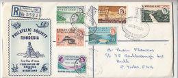 Rhodesia & Nyasaland: Philatelic Society Of Rhodesia Cover To Hull, 17 May 1960 - Great Britain (former Colonies & Protectorates)