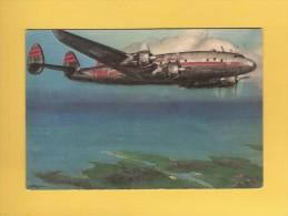 * CPM..Avion  TWA  : Voir  Les 2 Scans - 1946-....: Ere Moderne