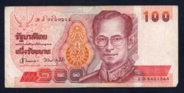THAILAND TAILANDIA - 100 BATH - BB - Tailandia