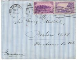 STATI UNITI - UNITED STATES - USA - US - 1938 - Puerto Rico + Virgin Islands - Viaggiata Da Chicago Per Berlin, Germany - Briefe U. Dokumente