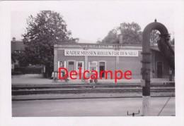 """Foto Villach Bahnhof Eisenbahn Propaganda """"Räder Müssen Rollen Für Den Sieg"""" 2.Weltkrieg NSDAP Parole 1943 - Villach"""
