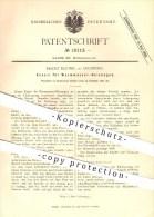 Original Patent - Franz Blümel In Augsburg , 1881 , Kessel Für Warmwasser - Heizungen , Heizung , Heizen , Feuerungen !! - Documents Historiques