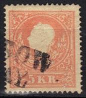 Autriche N° 14 (type II) - 1850-1918 Impero