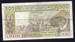 Banque Centrale Des Etas De L'Afrique De L'Ouest -BB - Stati Dell'Africa Occidentale