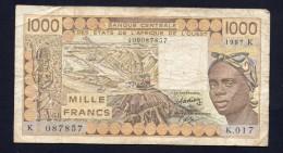 Banque Centrale Des Etas De L´Afrique De L´Ouest -BB - Stati Dell'Africa Occidentale
