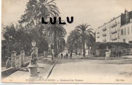 DEPT 83 : 2 Scans : Hyères , Boulevard Des Palmiers - Hyeres