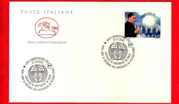 Nuovo - ITALIA - 2002 - FDC - Busta - Cavallino - 20 Anni Di Presenza Dei Cursillos Di Cristianità A Pescara-Penne - 6. 1946-.. Repubblica