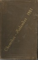 Germany 1901 Chemiker Kalender -Tagebuch Chemical Calendar  Notebook Diary Calendario - Kalender