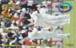 Trinidad & Tobago, 062CTTA, Celebration Time 95, Cricket, 2 Scans. - Trinidad & Tobago