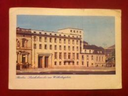 AK Berlin Reichskanzlei Am Wilhelmplatz Farbaufnahme 1943 - Porta Di Brandeburgo