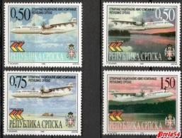 Bosnia Srpska - Opening Of National Air Carrier 1999 MNH - Bosnia And Herzegovina
