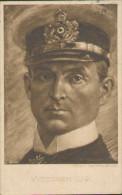 Kapitänleutnant Weddigen, U9, Marine Deutsches Kaiserreich, Portrait, Feld-Postkarte, Bremen, Militär, WWI - Weltkrieg 1914-18