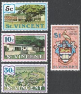 St Vincent. 1973 25th Anniv Of West Indies University. MNH Complete Set. SG 376-379 - St.Vincent (...-1979)