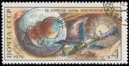 RUSSIA - Scott #4427 First Manned Space Flight, 15th Anniversary (*) / Used Stamp - 1923-1991 URSS