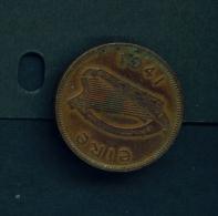 IRELAND  -  1941  1/2d  Circulated Coin - Ireland