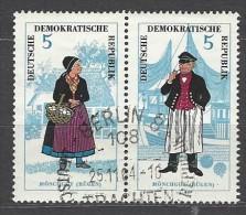 DDR - Mi-Nr. W Zd 144 Volkstrachten Ersttags - Gestempelt - [6] République Démocratique