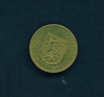 JERSEY  -  1957  3d  Circulated Coin - Jersey