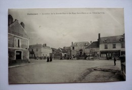 80- HALLENCOURT - Carrefour De La Grande Rue Et Des Rues SAINT-DENIS Et De L'hôtel De Ville - Religieux - Pub AMER PICON - Frankreich