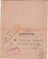 Corr. Cachet FRONT STALAG 210 -Aumônier  R.JAVELET N°55 - 6 Octobre1940 Stalag 210 Fuite De La Famille à Ussel - 1939-45