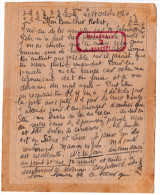 """Corr. FRONT STALAG 210 Cachet Rouge Recto+sur Le Texte """"Strasburg 2""""-Aumônier R.JAVELET N°56 -14 Octobre1940 Stalag 210 - 1939-45"""