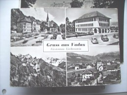 Liechtenstein Gruss Aus Vaduz - Liechtenstein