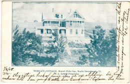 Terrace Cottage, Mount Philo Inn, North Ferrisburgh, VT 1908 - United States